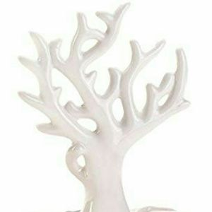 Just In! Koehler ceramic coral style jewelry tree